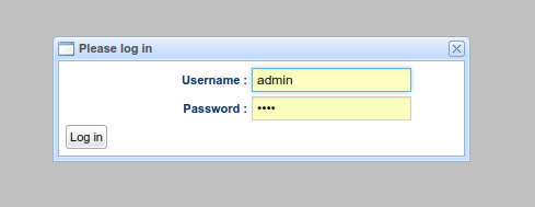 Login for Tenant Manager and Global Admin